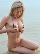 Candice B Swim And Surf Naked